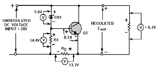 voltage regulator schematic