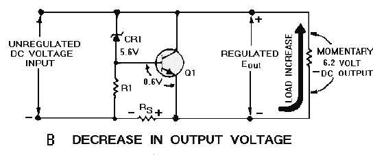 figure 4 39a shunt voltage regulator increase in output voltage rh electriciantraining tpub com Shunt Trip Circuit Breaker Wiring Shunt Trip Circuit