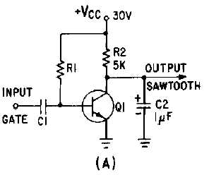 Integrator Circuit Sawtooth Wave on integrator circuit ic